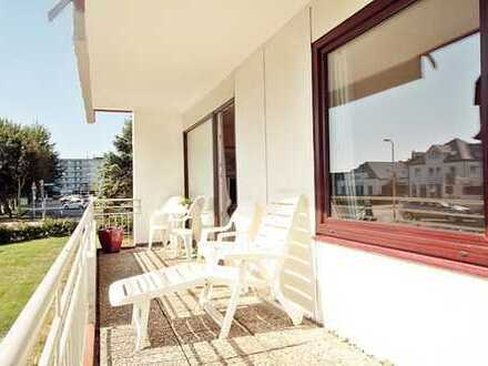 Zentral gelegenes Apartment, Schwimmbad,Tiefgarage in Westerland zu verkaufen.