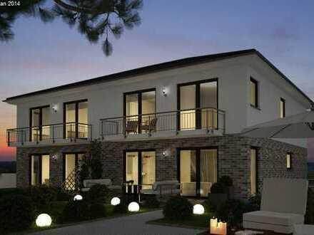 Flexible Gestaltung! Moderne Doppelhaushälfte mit ca. 30 m² Ausbaureserve!