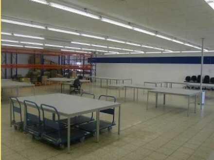 Gepflegte Gewerbeeinheit für Produktion/Lager oder Gastronomie und Fitness einschließlich Büroräame