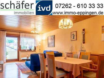 Dies könnte Ihr neues Zuhause sein! - Schöne 3 - Zimmer - Wohnung in Eppingen