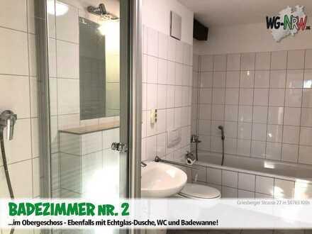 WG-Zimmer frei in Köln in einer kernsanierten Hofanlage ab dem 15.07.2021! Fußbodenheizung, Garten u