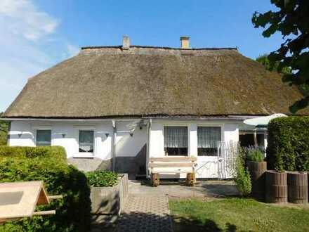 Dr. Lehner Immobilien NB -  Saniertes Reetdachhaus mit Charme bei Wolgast