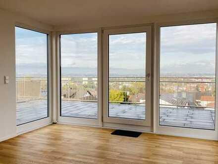Luxus- 3,5 Zimmerwohnung mit großer Dachterrasse