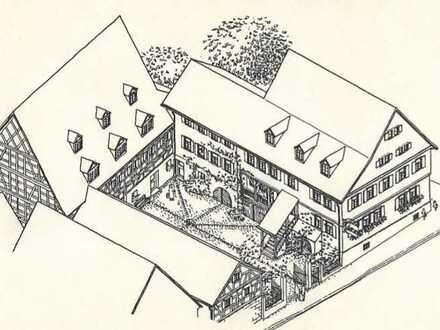 Gepflegte Wohnung mit einem Zimmer und Einbauküche in Obersulm-Willsbach