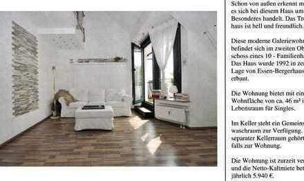 50m²(44m²) Galerie Traumwohnung - gemacht für Leute, die nach neuen Ideen suchen