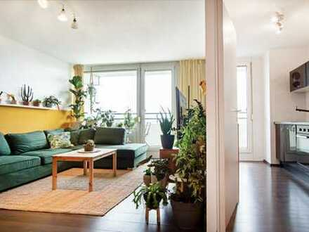 Attraktive 3-Zimmer-Maisonette-Wohnung mit zwei Balkonen und herrlichem Weitblick