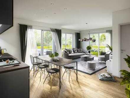 Perfekt für Singles und Paare - 2-Zimmer-Wohnung auf ca. 58m² mit Süd-Terrasse und privatem Garten!