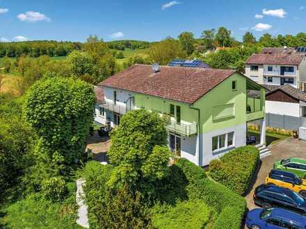 Wohnen am Naturpark Altmühltal  Attraktive 2- bzw. 3-Zimmer Wohnung im OG