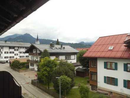 Appartement in sehr ruhiger Lage mitten in Oberstdorf