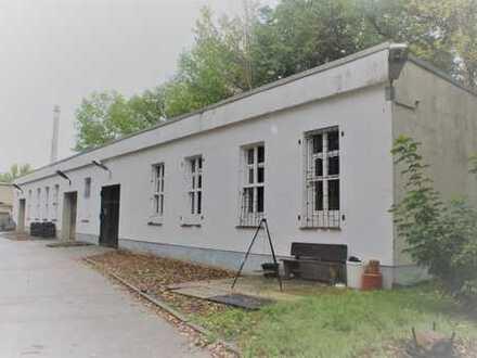 Gewerbegrundstück mit ausgestatteter KFZ-Werkstatt