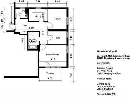 Tolle, große und helle Wohnung (frei werdend) in schöner Wohnanlage