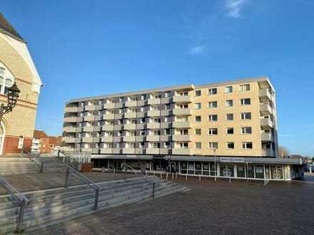 Schöne 2-Zimmer-Wohnung mit Tiefgaragenstellplatz in der Innenstadt von Westerland