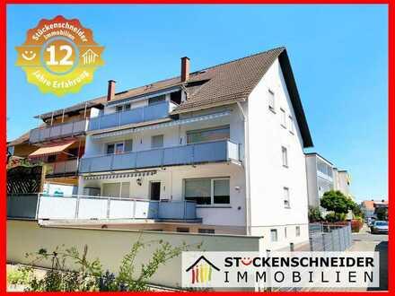 Herrlich sonnige Wohnung mit Einbauküche und Balkon! Gute Lage in Bischofsheim! www.isi-wohnen.de