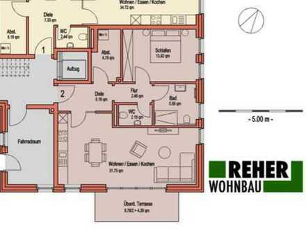Nordkirchen: Gehobene Neubauwohnung mit Garten in Toplage!
