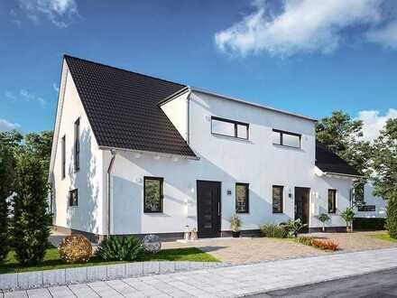 Das moderne Doppelhaus mit Charme und Charakter