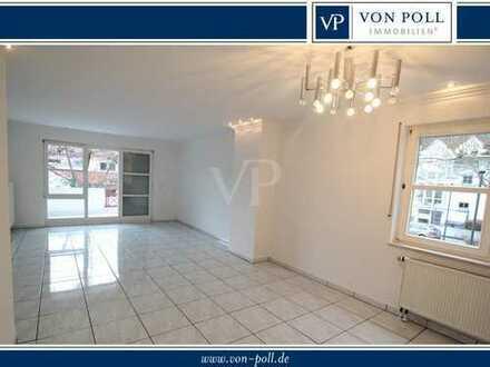 VON POLL - BAD HOMBURG: Schicke Maisonettewohnung mit 4 Zimmern und Balkon