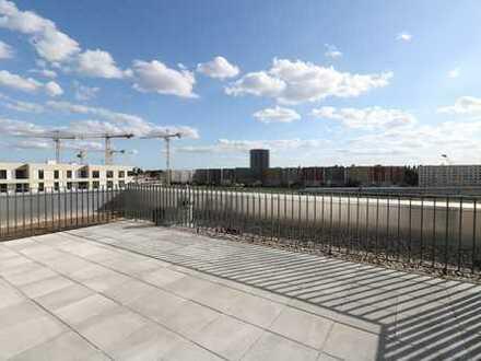Penthouse-Traum mit großer Dachterrasse zum Erstbezug mit EBK!