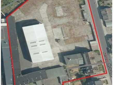 Gewerbefläche mit Entwicklungspotenzial (vorh. Bürogebäude, Hallen, Wohnhaus)