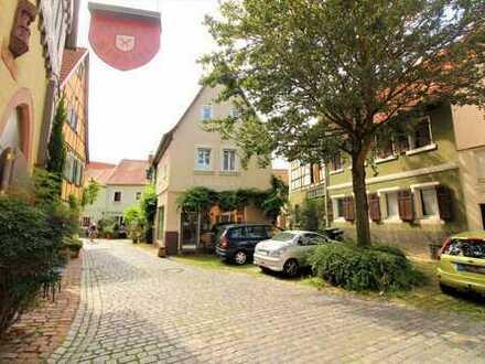 Historisches Haus inmitten der malerischen Altstadt von Ladenburg