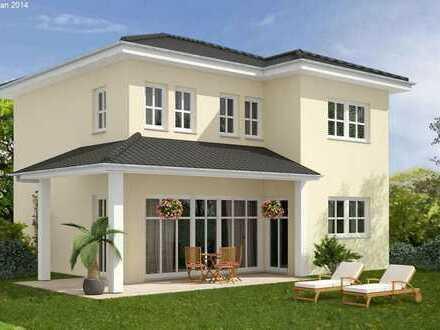 Schlüsselfertige u. freistehende Stadtvilla individuell planbar! Auch mit Garage und Keller möglich.
