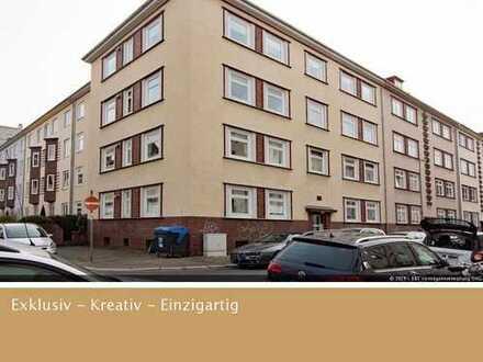 2 Zimmer- Hochparterre- Wohnung mit Loggia in der List, ohne Maklerprovision