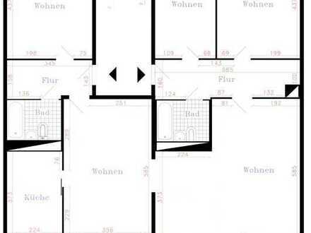 Grundrissänderung - 4-Raum WE mit Balkon