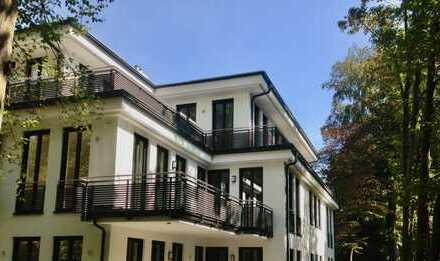 Luxuriöse, großzügige 4-Zimmer-Wohnung mit Kamin und zwei Terrassen in ruhiger TOP Lage