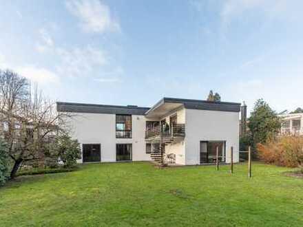 Waldrandlage! Freistehendes geräumiges Einfamilienhaus im Bauhausstil im Dortmunder Süden