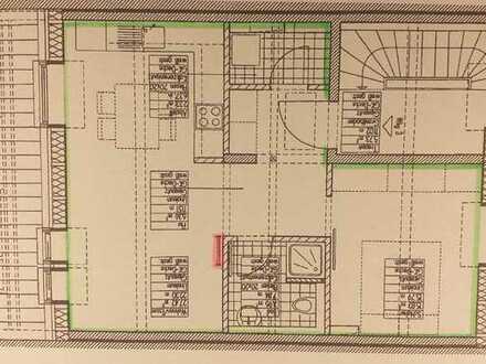 2,5-Zimmer-Dachgeschosswohnung in Mainz