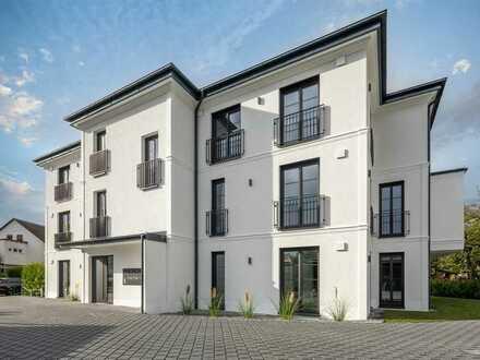 Schick! Maisonnette im Neubau + Parkett + 2 Bäder + 38m² Wohn- und Essbereich + Terrasse + Carports