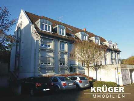 Pfinztal-Söllingen / gepflegte 3,5-Zi-Whg mit Balkon & Garage in ruhiger Lage / derzeit vermietet