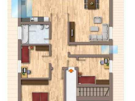 Sonnige 4-Zimmer-Dachgeschoßwohnung mit BALKON in Altlandsberg