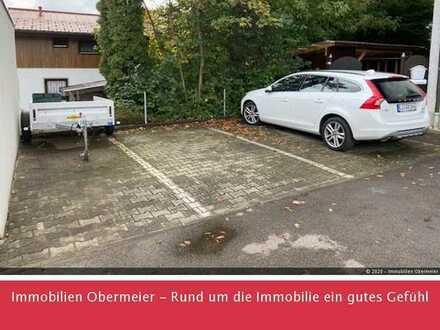 2 XL Pkw-Stellplätze auch für Wohnmobil geeignet in Weißensberg, Kirchstr.