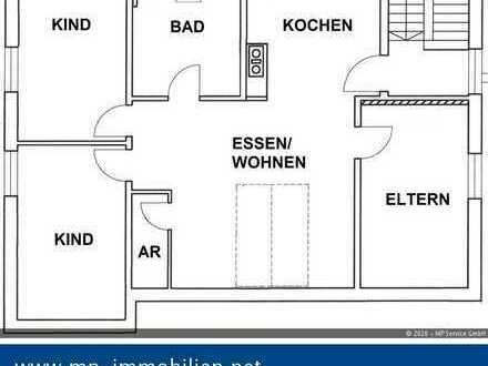 4-Zimmer-Eigentumswohnung mit Dachgeschossflair