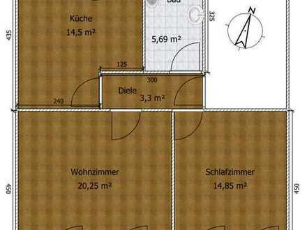 Freundliche 2-Zimmer-Wohnung in Aachen mit zentraler Lage