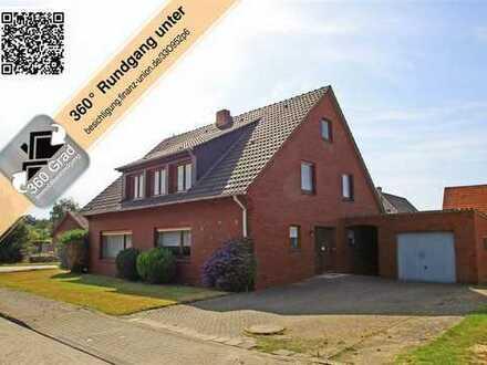 Viel Platz für die ganze Familie: Großzügiges Einfamilienhaus mit Garage in Emlichheim.