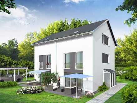 Neubau-DHH mit 6 Zimmern in schöner zentraler Ortslage - Haus 1
