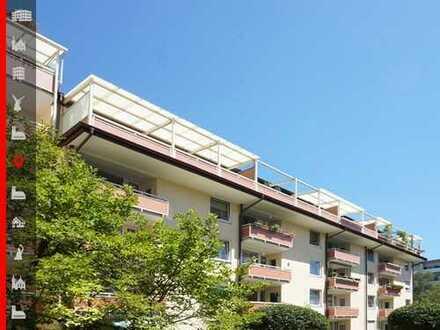 Hochwertig renovierte Dachterrassenwohnung im idyllisch ruhigen Innenhof