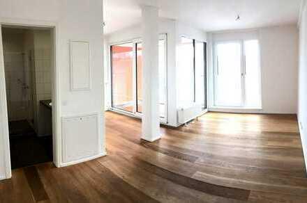 Single-Appartement in modernem Neubau im Zentrum Kaiserslauterns
