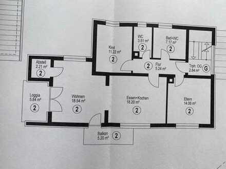 Erstbezug nach Sanierung mit Balkon: schöne 4-Zimmer-Wohnung in Remchingen