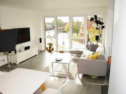 Blick aufs Kreuzviertel: Moderne 3 ZKBB-Wohnung mit Einbauküche + Gäste-WC