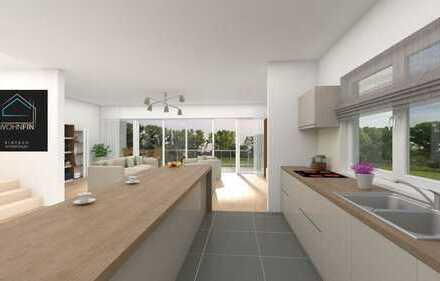 Architektonisch modernes Neubau-Einfamilienhaus mit Traumblick