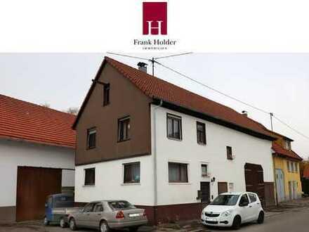 Kleines Haus mit Platz für Ihr Hobby (große Scheune)