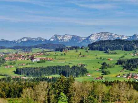 Neubau DHH- Ferienhäuser mit Allgäu- Panoramablick