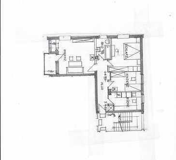 Vollständig renovierte 3-Raum-Wohnung mit Balkon und Einbauküche in Braunschweig