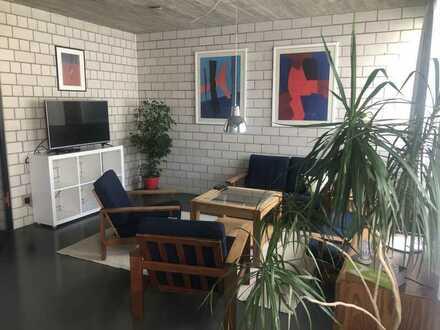 Gepflegte, vollmöblierte 2-Zimmer Einliegerwohnung in Karlsruhe-Nordweststadt
