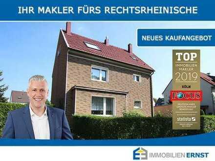 Seltene Chance - Einfamilienhaus auf RIESIGEM Grundstück in Köln-Buchheim - KÄUFERPROVISIONSFREI