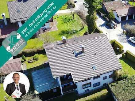 Freistehendes Gästehaus in zentraler Lage, ca. 351 m² Wohnfläche, 961 m² Grundstück.