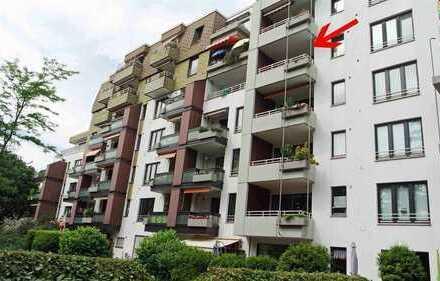"""Als neues Zuhause, oder als """"Betongold"""": Lichtdurchflutete 3-Zimmer-Wohnung"""