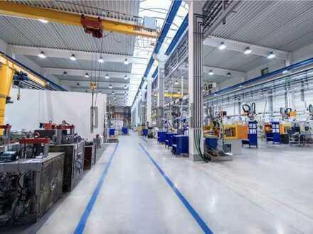 5.000 m² * TEILBAR * Lager-/ Produktion * VIELE TORE * 0151-510-16-422